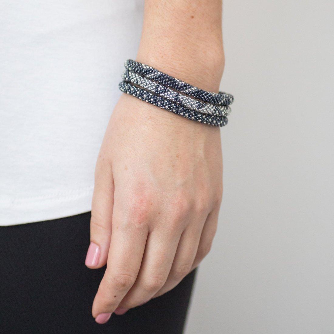 3 sæt Perle armbånd Stone