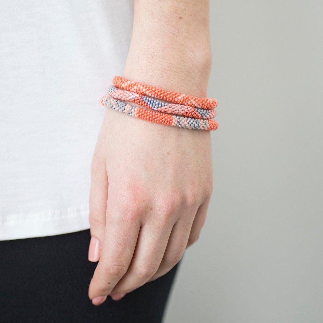 3 sæt Perle armbånd Coral