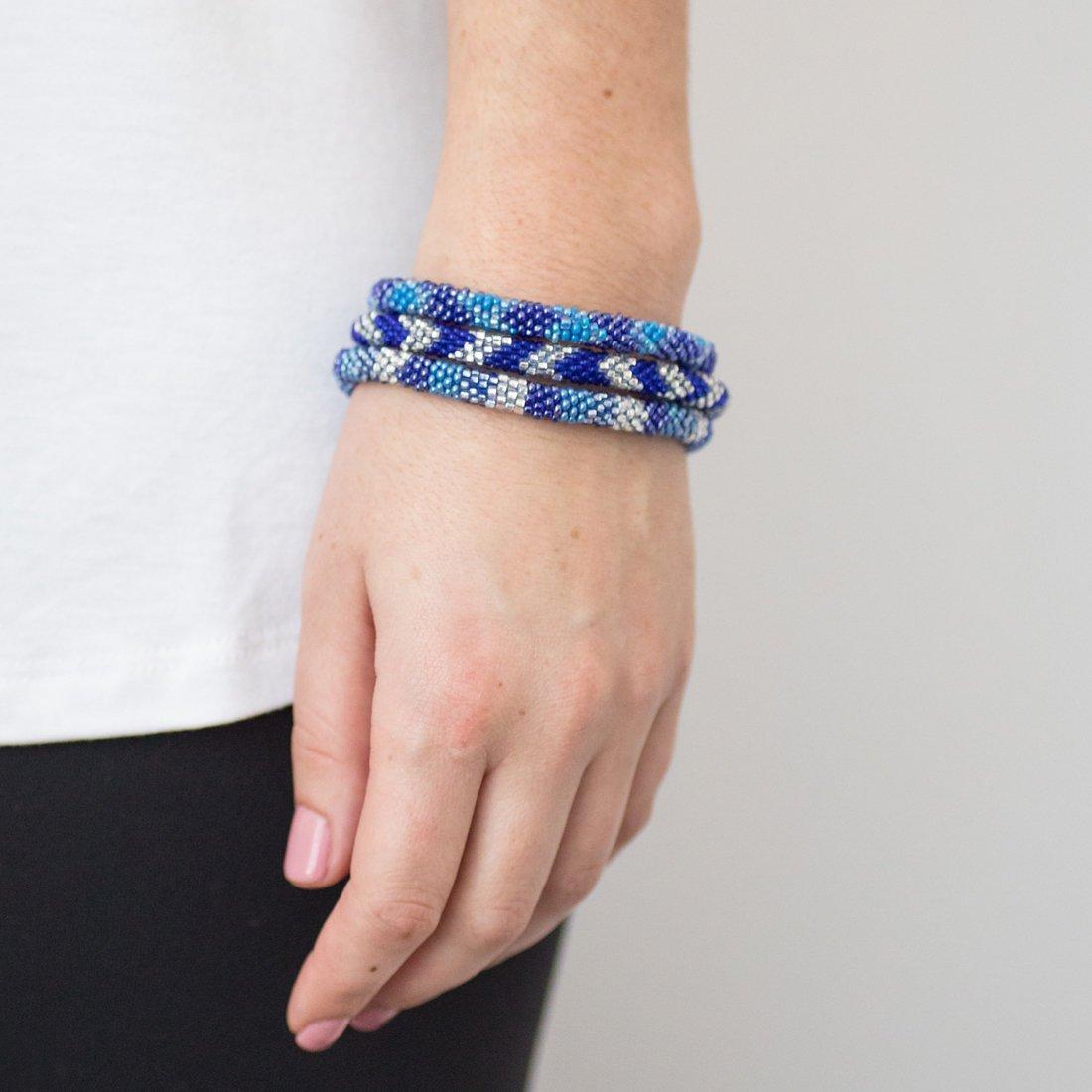 3 sæt Perle armbånd Wave