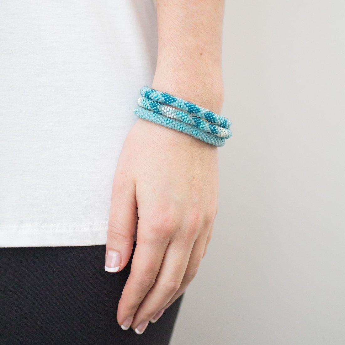 3 sæt Perle armbånd Turqouise