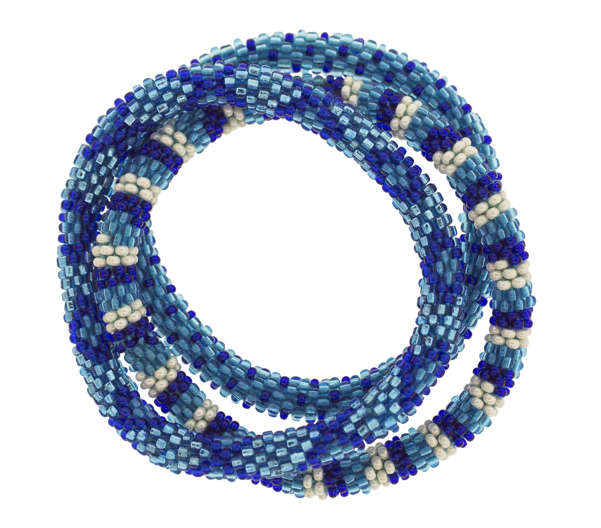 3 sæt Perle armbånd Blue