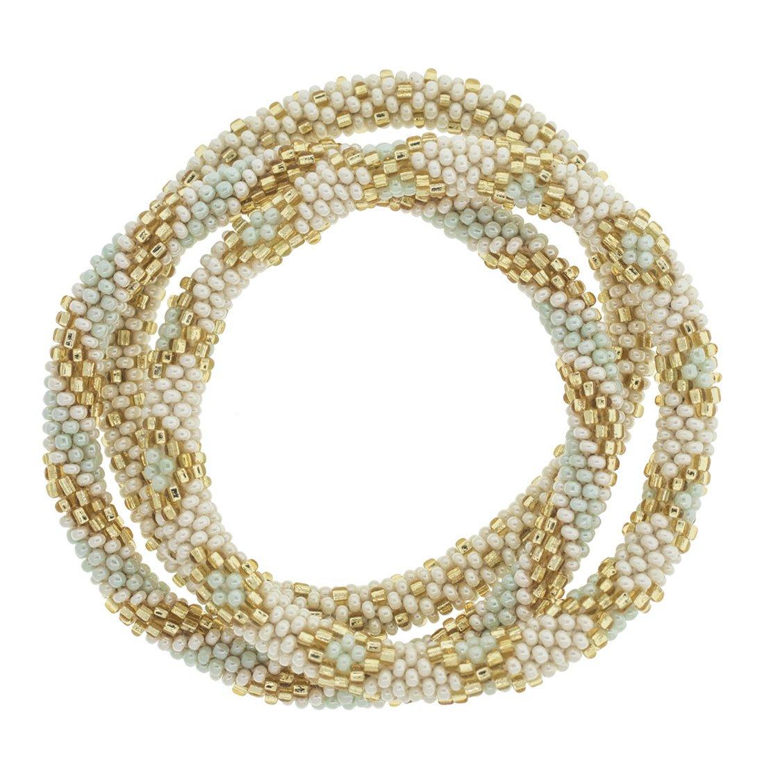 3 sæt Perle armbånd Mint