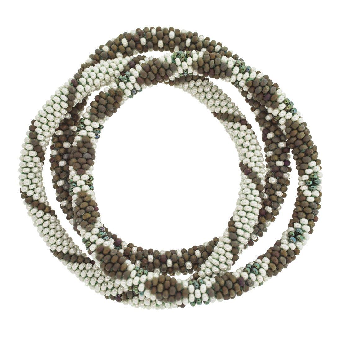 3 sæt Perle armbånd Glamping