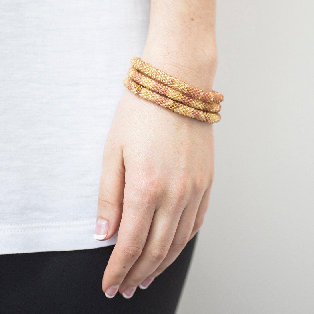 3 sæt Perle armbånd Camel